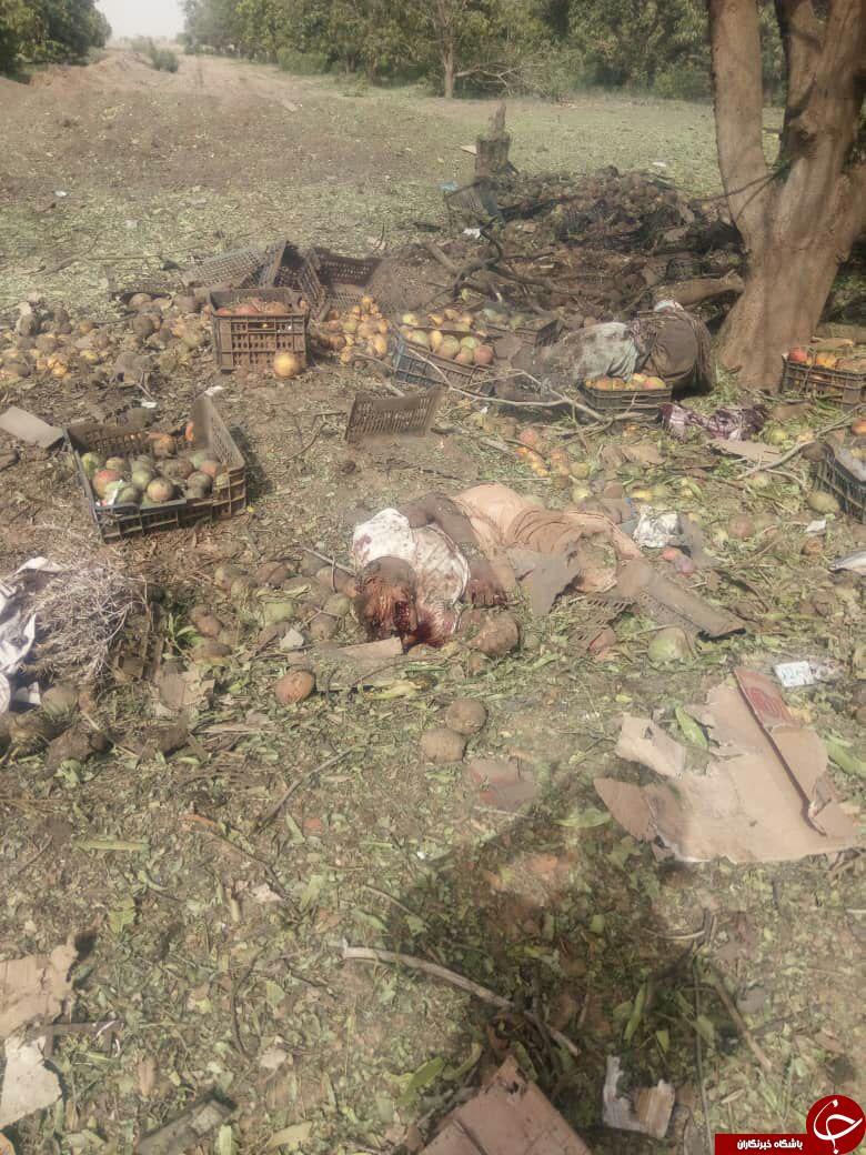 تصاویری تکاندهنده از جنایت خونین آلسعود در الحدیده!