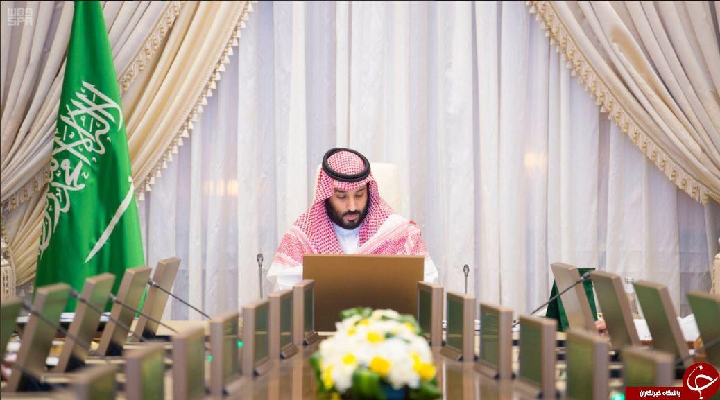انتشار نخستین تصاویر از محمد بن سلمان پس از حادثه تیراندازی نزدیک کاخ پادشاهی سعودی