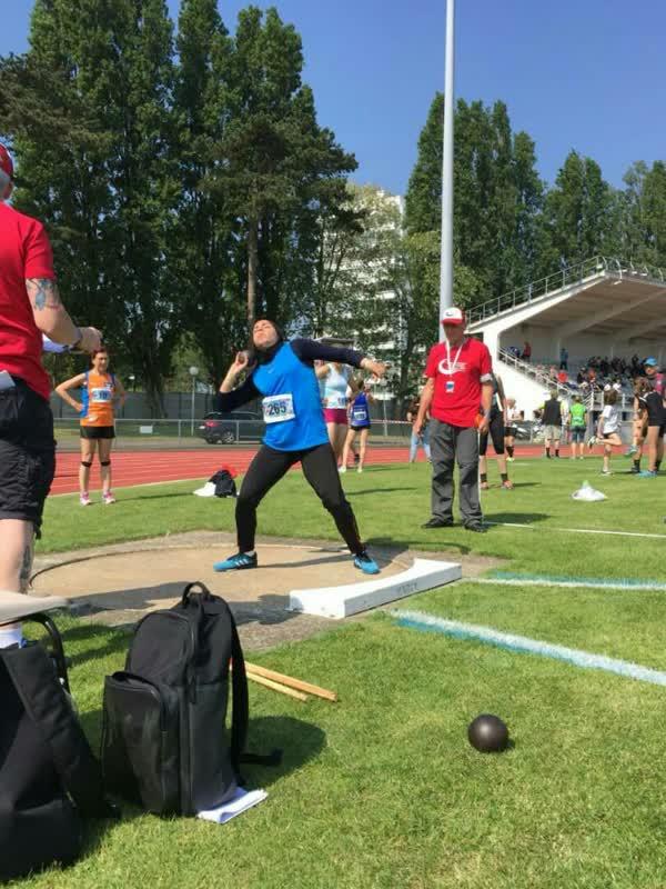 کسب اولین مدال دوو میدانی در مسابقات جهانی فرانسه توسط ورزشکار همدانی