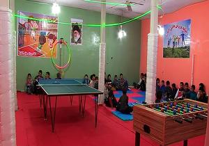 افتتاح خانه ورزش روستایی در مراغه