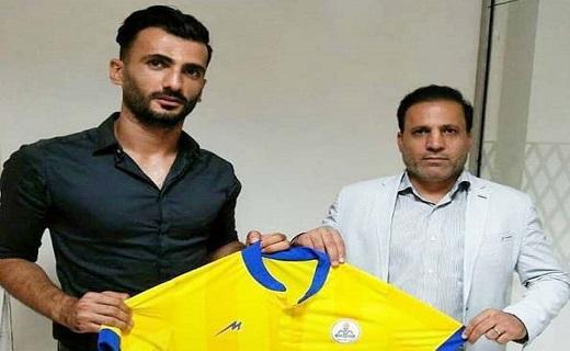 باشگاه خبرنگاران -تمدید قرارداد مجتبی بیژن بازیکن نفت مسجدسلیمان