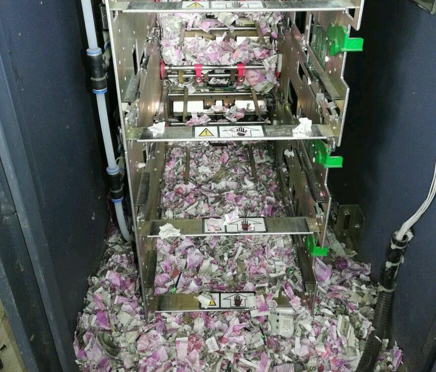 بلایی که موش ها سر پول های خودپرداز آوردند! + فیلم