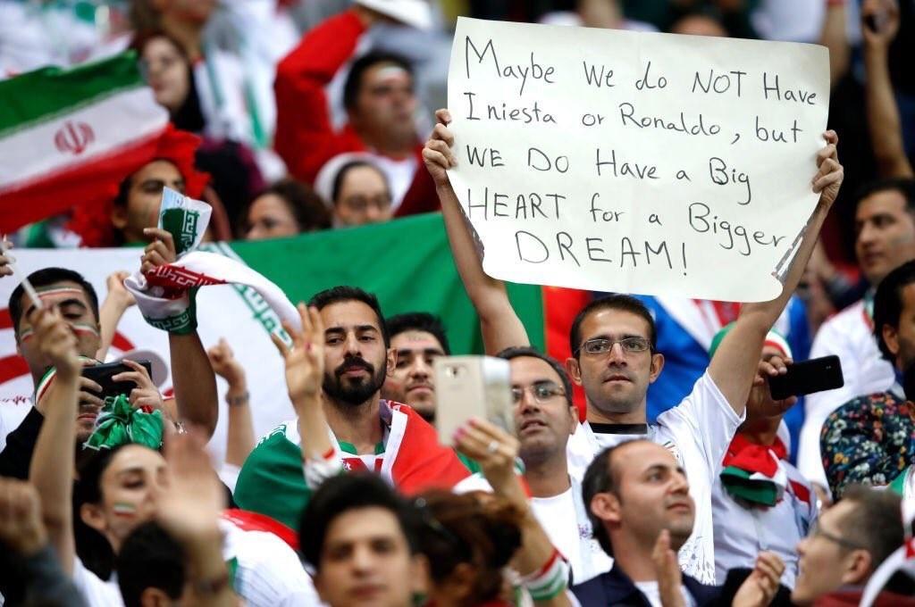 واکنش کاربران فضای مجازی به شکست قهرمانانه ایران در مقابل اسپانیا +تصاویر