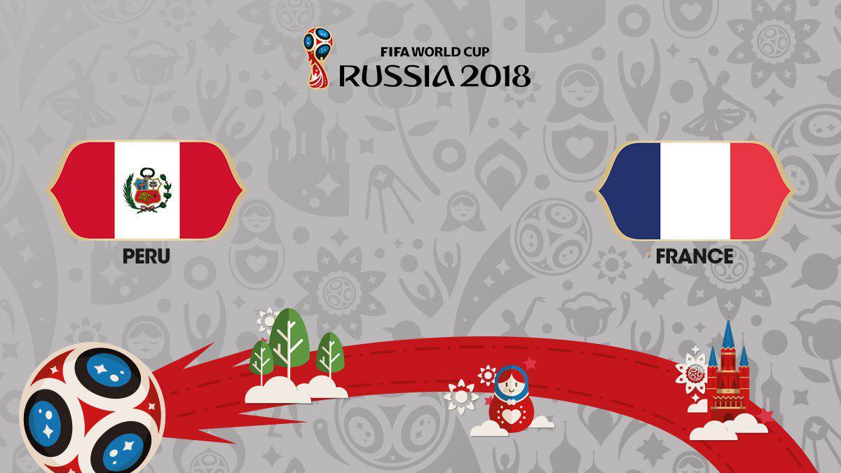 ستارههای فرانسه در مقابل باانگیزههای پرو/آرژانتین- کرواسی فینال گروه چهارم جام جهانی