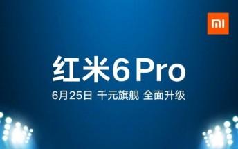 تاریخ عرضه شیائومی Redmi 6 Pro مشخص شد