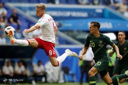 جام جهانی 2018 روسیه/دیدار تیمهای فوتبال استرالیا و دانمارک