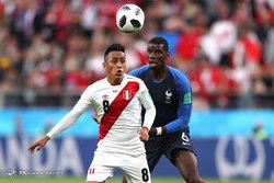 جام جهانی 2018 روسیه/دیدار تیمهای فوتبال فرانسه و پرو