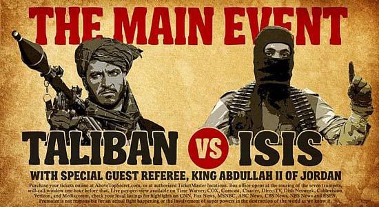 داعش - طالبان و رینگ مبارزهای به نام افغانستان
