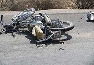 دوکشته و زخمی براثر تصادف دو موتورسوار در الیگودرز