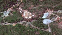 لحظه انهدام پایگاه آزمایش هستهای کره شمالی + فیلم