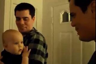 واکنش جالب کودکان به دوقلوی والدینشان +فیلم