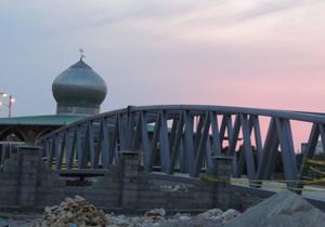 ساخت پل ۳۰۰ میلیونی در نکا