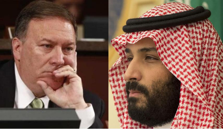 گفتگوی تلفنی وزیر خارجه آمریکا با ولیعهد عربستان