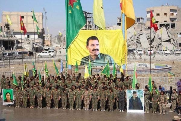 شبه نظامیان کرد با حمایت آمریکا و عربستان گارد مرزی در شمال سوریه تشکیل میدهند