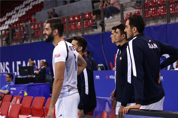 گزارش تصویری دیدار دو تیم ایران و فرانسه //// در حال ویرایش////