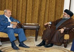 سید حسن نصرالله و نبیه بری بر حمایت همه جانبه از ملت فلسطین تاکید کردند
