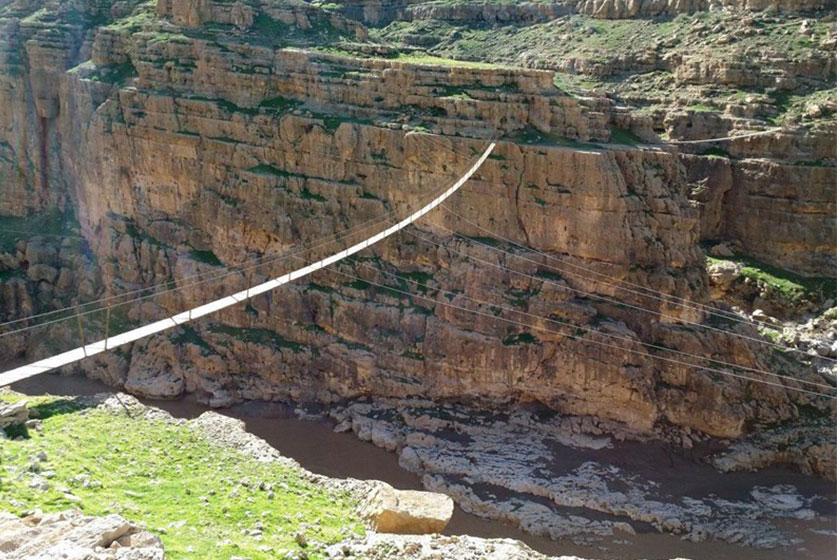 بلندترین پل معلق ایران کجاست؟