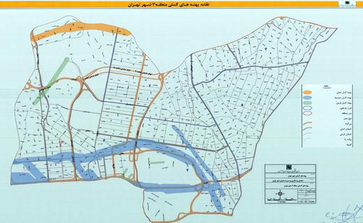 جزییات پهنههای گسلی پرخطر، منطقه ۳ شهر تهران+ نقشه پلاک به پلاک