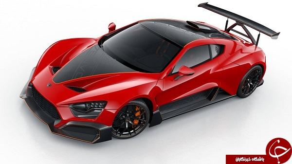 عقاب سرخ؛ آشنایی با فناوری آیرودینامیکی فعال در اتومبیل TSR-S +تصاویر