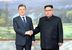 دیدار این و اون به روایت تلویزیون کره شمالی + فیلم