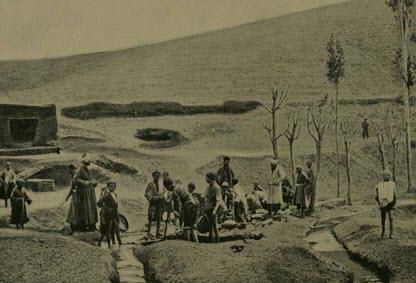 عکس تاریخی از معدن فیروزه نیشابور