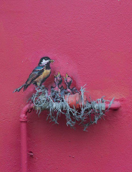 نقاشیهای دیواری حیرتانگیز+ تصاویر