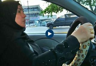 ناگفتههای اولین بانوی عراقی که راننده تاکسی شد+فیلم