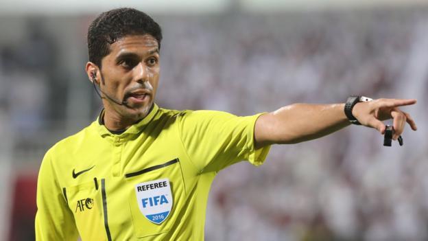 تیم داوری عربستان از جام جهانی 2018 روسیه حذف شد