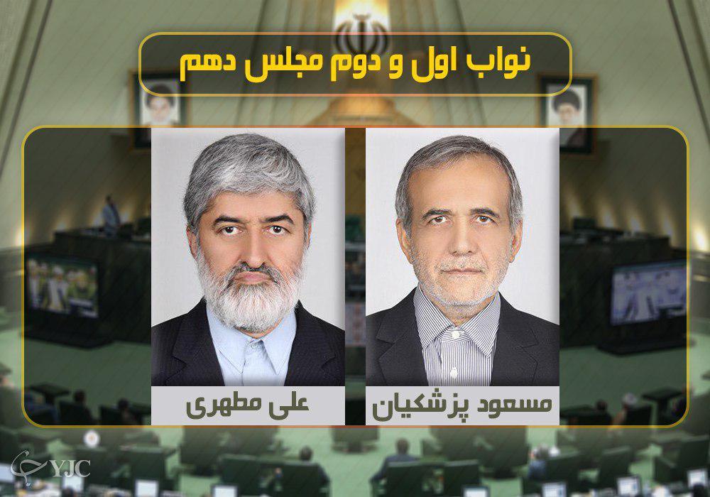 ترکیب کامل اعضای هیئت رئیسه اجلاسیه سوم مجلس دهم + جدول