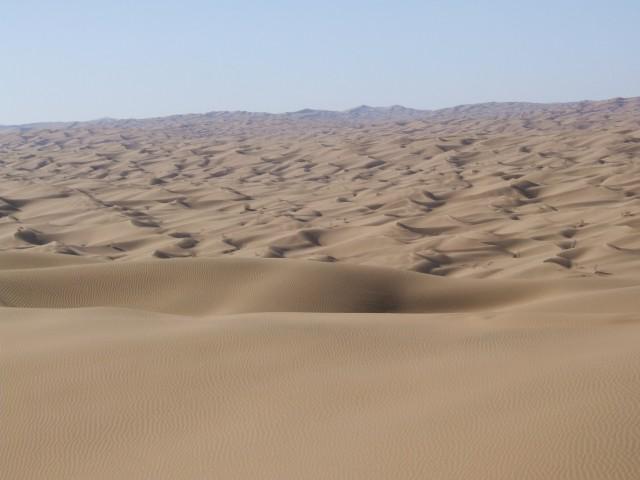 مرتفعترین هرمهای ماسه بادی جهان کجاست؟