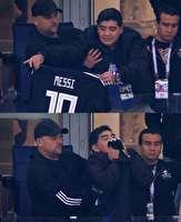 باشگاه خبرنگاران -اشک هاى مارادونا پس از دیدار تیمهای آرژانتین - کرواسی