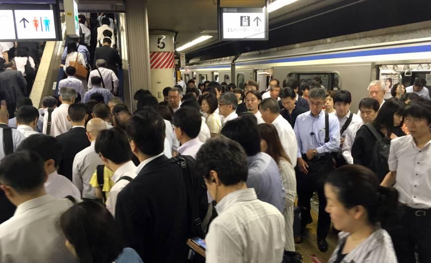 تایم لپسی جالب از ساعت شلوغی ژاپن +فیلم