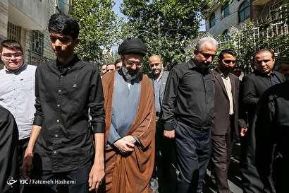 باشگاه خبرنگاران -تشییع پیکر مرحوم حجت الاسلام والمسلمین سید علی اکبر حسینی