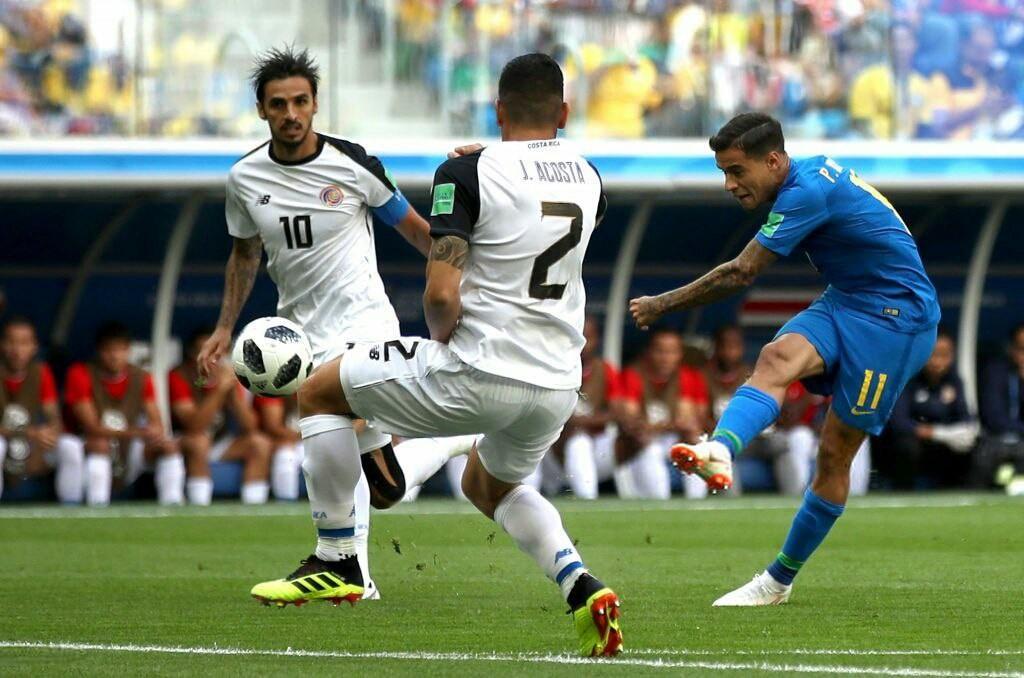 برزیل ۰ - ۰ کاستاریکا / گزارش لحظه به لحظه نیمه نخست
