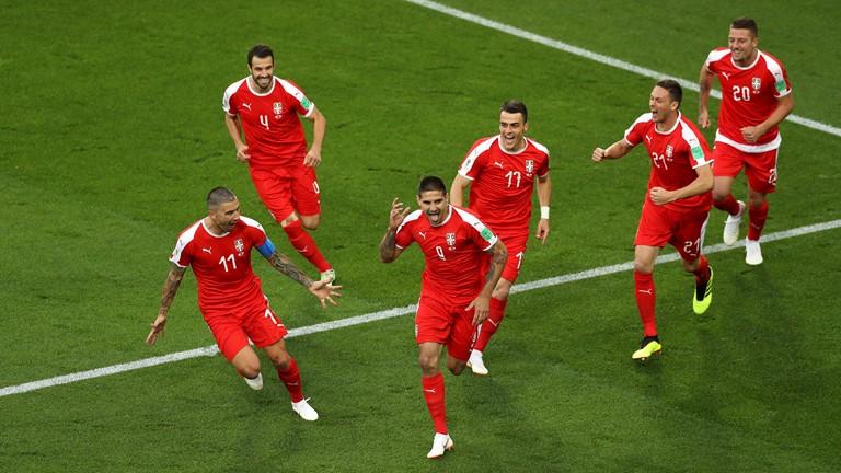 نتیجه لحظه به لحظه/سوئیس 0 - صربستان 1
