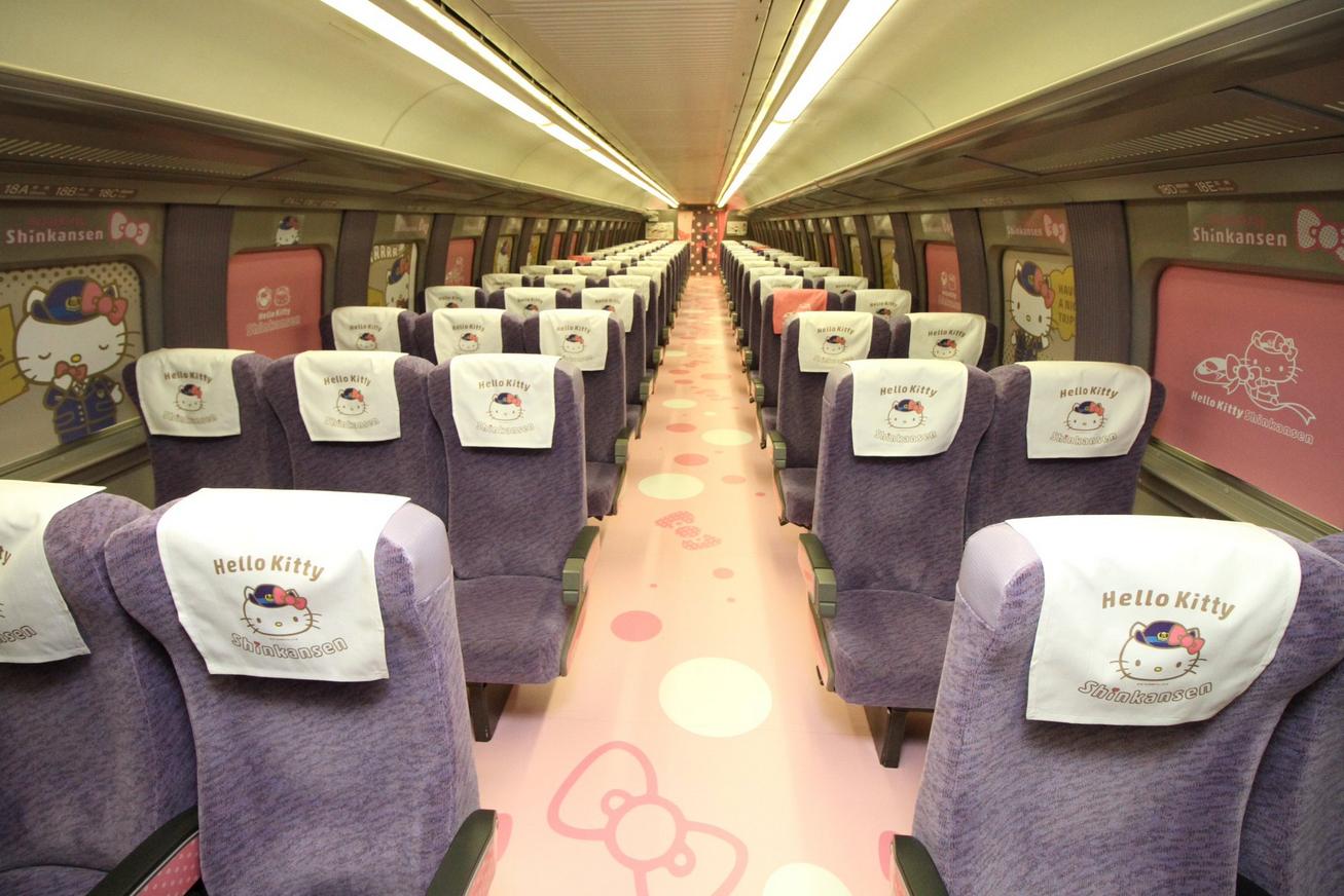 دخترانه ترین قطار دنیا رونمایی شد+تصاویر