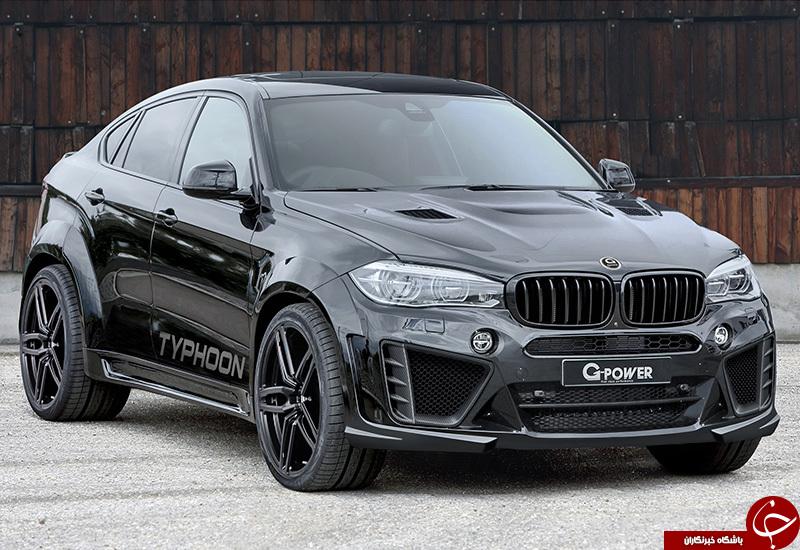 نگاهی به بی ام و x6 مدل 2018 ( BMW X6)