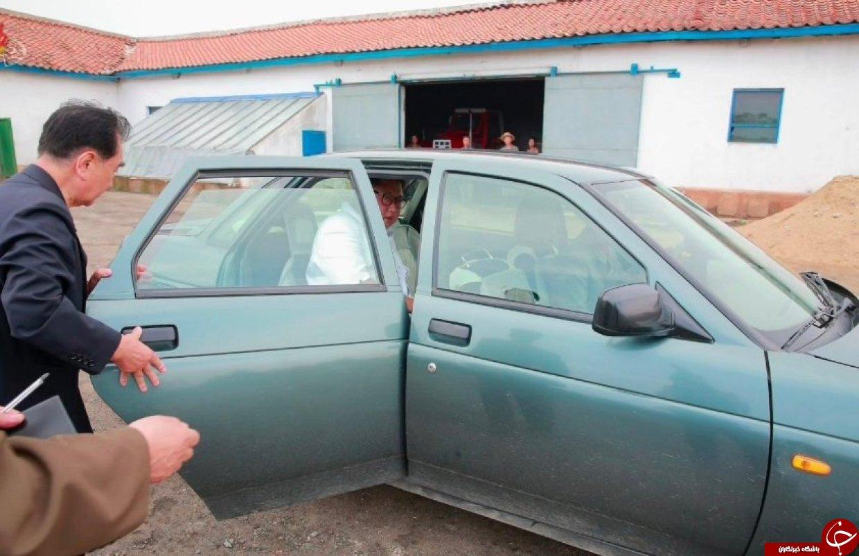 اتومبیل از رده خارج رهبر کره شمالی سوژه رسانه ها شد+تصاویر