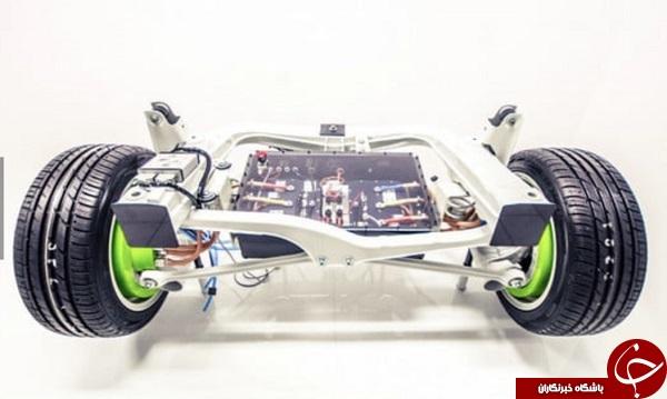 موتور برقی داخل چرخ، تحولی انقلابی در خودروهای الکتریکی+ فیلم