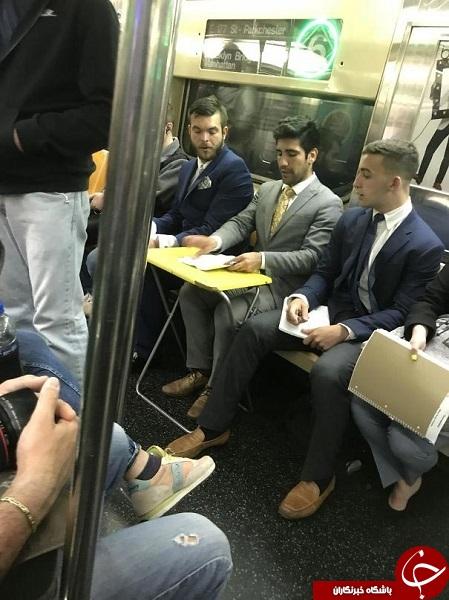 صحنههایی باورنکردنی در مترو که تا کنون ندیدهاید +تصاویر
