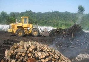 کشف 3 هزارکیلو زغال قاچاق در شهرستان پاوه