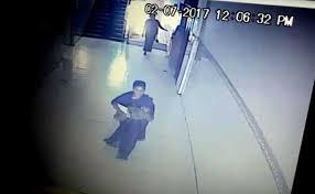 لحظه ربوده شدن یک نوزاد  از بیمارستان دولتی + فیلم//