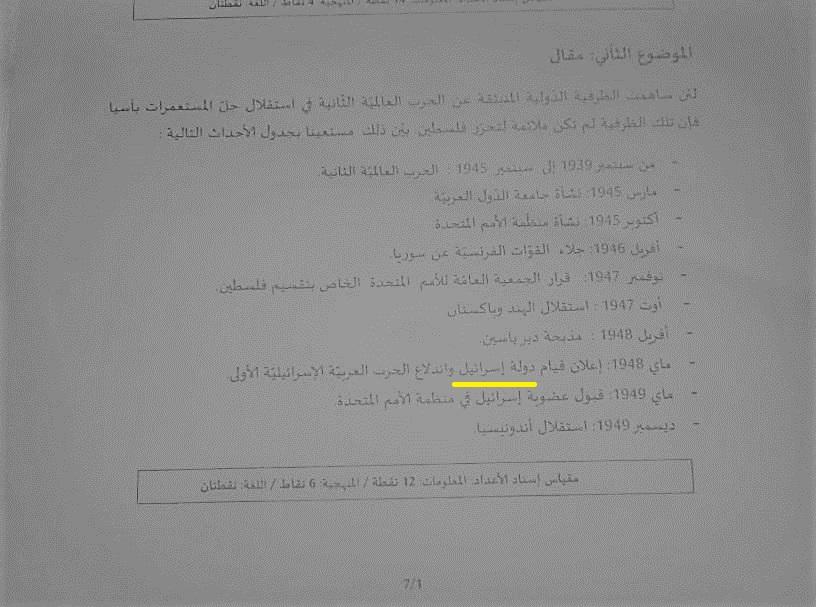اعتراض معلمان تونسی به خوشرقصی موذیانه دولت برای رژیم صهیونیستی+فیلم