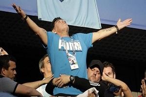 ادعای عجیب مارادونا