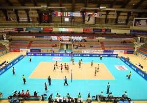 پیروزی تیم ملی والیبال نوجوانان ایران بر سریلانکا