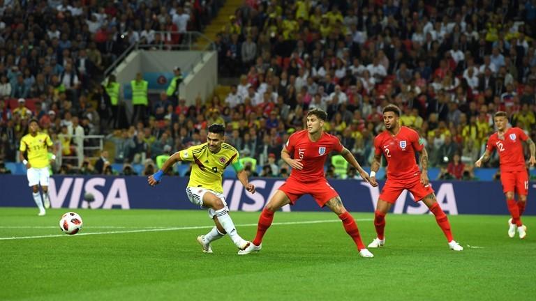 انگلیس ۱ - ۰ کلمبیا / گزارش لحظه به لحظه