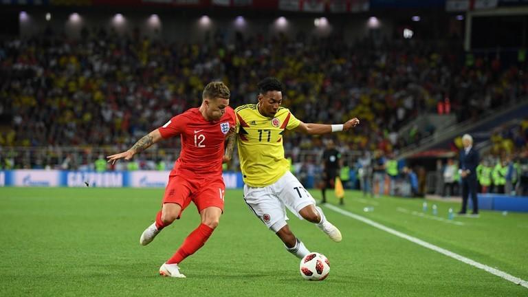 انگلیس ۱ - ۱ کلمبیا / گزارش لحظه به لحظه