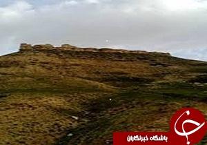 قلعه باشقورتران از آثار ملی کشور با بی مهری مسئولان در حال تخریب