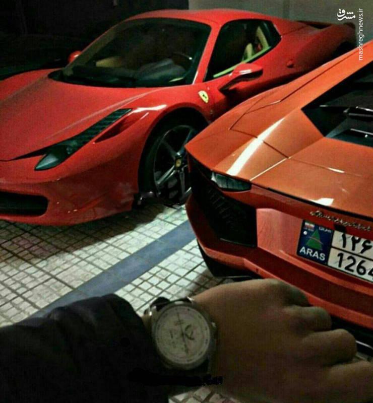 پارکینگ چندمیلیاردی بچه پولدار ایرانی!+تصویر