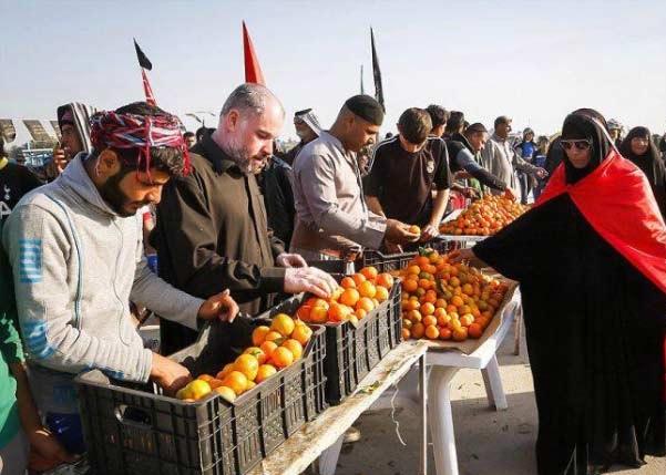 خیران بوشهری ۴۴ موکب ایجاد میکنند